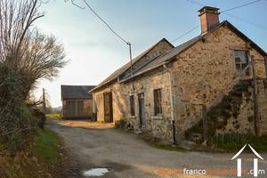 Farmhouse and outbuildings on 3 1/3 acres.